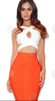 Colorful Thick Belt Material Top And Skirt | Clothing Accessories for sale in Lagos State, Ikeja
