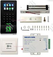 F22 Time Attendance Fingerprint Access + EM Lock+ Power Supply + Exit   Computer Hardware for sale in Lagos State, Ikeja