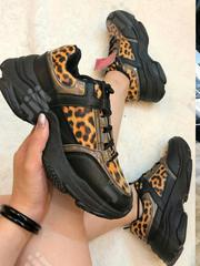 Classy Female Animal Skin Sneakers | Shoes for sale in Lagos State, Ikeja