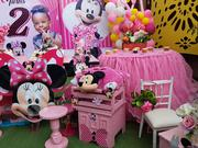 Minnie Mouse Cake Area For A Lil Princess Setup By Ellehbeylowh Events | Party, Catering & Event Services for sale in Lagos State, Lagos Mainland
