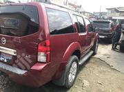 Nissan Pathfinder LE 4x4 2006 Red   Cars for sale in Lagos State, Isolo