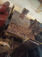 Mable Dinning Table With 6 Leather Chairs in Abuja | Furniture for sale in Abuja (FCT) State, Garki II