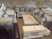 Royal 7 Sets of Sofas With Mable Center Table in Abuja | Furniture for sale in Abuja (FCT) State, Garki 2