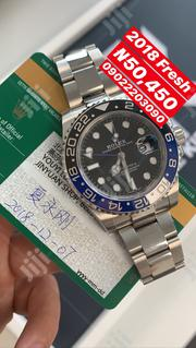2018 Rolex Gmt-Master Silver Stainless Wristwatch / Wrist Watch | Watches for sale in Lagos State, Lagos Island