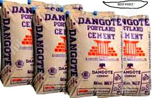 Dangote Cement And Iron Rod @The Best Wholesale Price