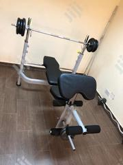 Weight Bench With 50kg   Sports Equipment for sale in Lagos State, Agege
