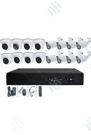 16 Channel AHD 2.0MP Security Video Surveillance Cameras System   Photo & Video Cameras for sale in Lagos State, Lagos Mainland