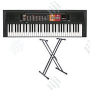 Yamaha PSR - F51 YAMAHA Keyboard Piano With Adaptor And Free Stand | Musical Instruments & Gear for sale in Lagos State, Ojo