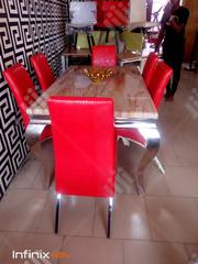 High Quality Marble Dinning Table With 6 Chairs. | Furniture for sale in Abuja (FCT) State, Gwarinpa