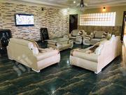 7 Seaters Set Of Sofa Chair With A Center Table | Furniture for sale in Lagos State, Ojo