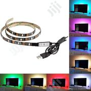 16 Colours Remote Controlled TV Background Light For Home Decorations | Accessories & Supplies for Electronics for sale in Lagos State, Ojo