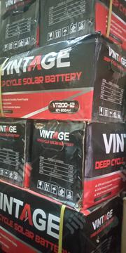 Vintage 200ah 12volts Battery   Solar Energy for sale in Lagos State, Ojo