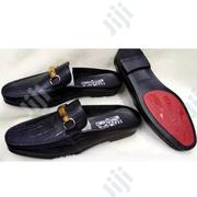 Quality Ferragamo Half Leather Shoe for Men | Shoes for sale in Lagos State, Lagos Island