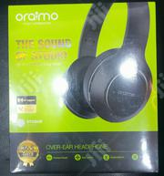 Oraimo Bluetooth Aux Input Over Ear Studio Headphones | Headphones for sale in Lagos State, Ojo