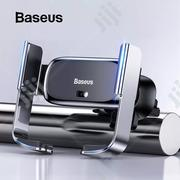 Baseus Car Phone Holder Electric Stand Bracket Car Charging Mount   Vehicle Parts & Accessories for sale in Lagos State, Ikeja