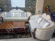 6-Seater Luxury Sofa Set With Center Table and 2 Side Tables | Furniture for sale in Lagos State, Ajah