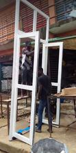 Aluminium And Glass Construction Work, Both Repair And New | Windows for sale in Mushin, Lagos State, Nigeria
