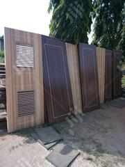 Solid HDF Door With Chrome | Doors for sale in Lagos State, Mushin