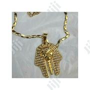 Fashion Sweet Gold Plated Neck With Pendant for Men | Jewelry for sale in Lagos State, Surulere
