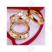 Fashion Fashion 18karat Romania Express Gold Wedding Ring Set | Jewelry for sale in Lagos State, Surulere
