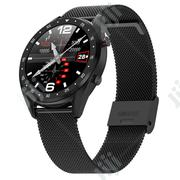 L7 Bluetooth Call Smart Watch - Black Chain | Smart Watches & Trackers for sale in Lagos State, Magodo