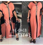 Ladies Casual Maxi Gown In Orange | Clothing for sale in Lagos State, Lagos Island