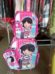 3 In 1 UK Children Cartoon Character Trolley School Bag | Babies & Kids Accessories for sale in Lagos State, Lagos Mainland