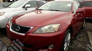 Lexus IS 2007 250 SE AWD Red   Cars for sale in Lagos State, Apapa