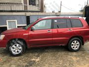 Toyota Highlander 2001 3.0 Red | Cars for sale in Lagos State, Ojo