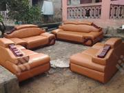 7seater Leather Sofas Chair | Furniture for sale in Lagos State, Ojo