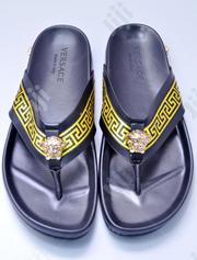 Quality and Unique Mens Varsace Palm Slippers | Shoes for sale in Lagos State, Ojodu