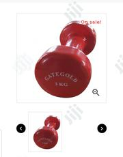 3KG Vinyl Dipping Dumbbell- In Pairs- JDB12.3 | Sports Equipment for sale in Lagos State, Isolo