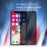Anti-spy Tempered Glass Full Screen Protector For iPhone 11pro Max | Accessories for Mobile Phones & Tablets for sale in Lagos State, Ikeja