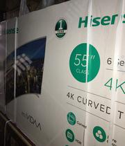 Hisense Curved 4k Smart Tv 55inch | TV & DVD Equipment for sale in Lagos State, Amuwo-Odofin