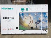 Hisense 65-inch 4K UHD Smart LED TV + Free Wall Bracket - 65A6100UW | TV & DVD Equipment for sale in Lagos State, Amuwo-Odofin