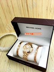 Micheal Kors Female Wristwatch With Bracelets | Jewelry for sale in Lagos State, Surulere