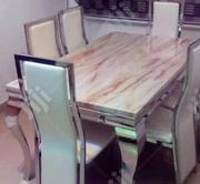 New High Quality Smart Six Seater Marble Dining Table | Furniture for sale in Lagos State, Ikeja