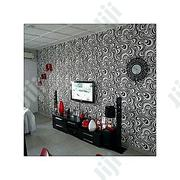 Geometric 3D Wallpaper - Black White | Home Accessories for sale in Lagos State, Lekki Phase 1