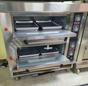 Gas Oven 2 Doors 4 Trays | Restaurant & Catering Equipment for sale in Abuja (FCT) State, Wuse