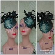 Deep Green Fascinator   Clothing Accessories for sale in Lagos State, Lagos Mainland