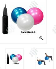 75cm Gym Ball With Pump | Sports Equipment for sale in Lagos State, Surulere