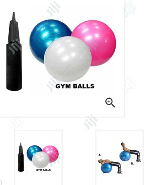 75cm Gym Ball With Pump