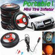 Portable Auto Car Pump Tyre Inflator And Air Compressor | Vehicle Parts & Accessories for sale in Lagos State, Ikeja