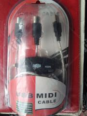 Usb Midi Cable | Computer Accessories  for sale in Lagos State, Ikeja