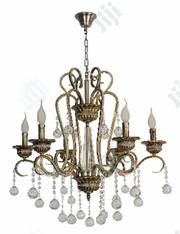 Italian Crystal Chandelier With Free Bulbs( USA) Just 50pes | Home Accessories for sale in Lagos State, Victoria Island