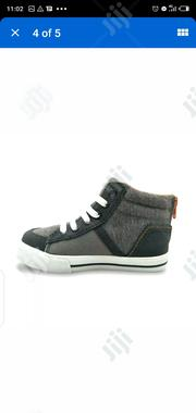 Toddler Boys Tim High Top Sneakers Cat & Jack Gray Black Orange | Children's Shoes for sale in Lagos State, Lagos Island
