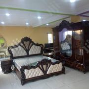 Royal Bed With Dressing Mirror | Furniture for sale in Lagos State, Amuwo-Odofin