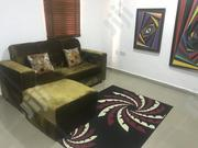 Velvet Gold Leather Furniture for Sale at Giveaway Price!! | Furniture for sale in Abuja (FCT) State, Lugbe