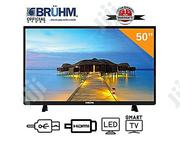 Bruhm 50-inch Smart 4K UHD LED TV+ Wall Bracket +1 Year Warranty | TV & DVD Equipment for sale in Osun State, Ife