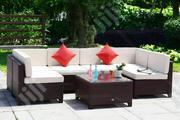 Beautiful 3-piece Garden Rattan Furniture | Manufacturing Services for sale in Lagos State, Ikeja